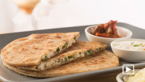 PANEER PARATHA STUFFED RECIPE