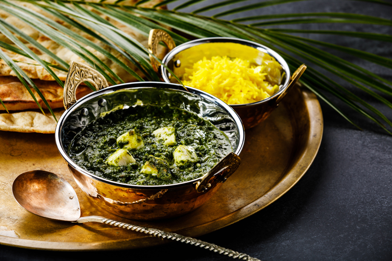 Palak Paneer -Paneer Cooked with Spinach
